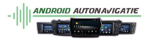 Android Autoradio navigatie