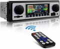 Retro Autoradio met FM Radio en Bluetooth