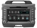 Kia Sportage 2010 tot 2016 passend navigatie autoradio systeem op basis van Windows