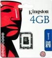 Kingston Micro SD kaart 4GB