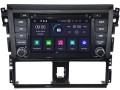 Toyota Yaris  2014 tot 2017 passend navigatie autoradio systeem op basis van Android