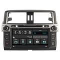 Toyota Landcruiser Prado 2014 passend navigatie autoradio systeem op basis van Windows